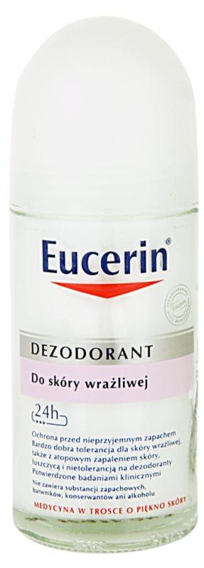 Eucerin Deo guličkový dezodorant roll-on pre citlivú pokožku