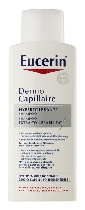 Eucerin DermoCapillaire hypertolerantný šampón pre podráždenú pokožku