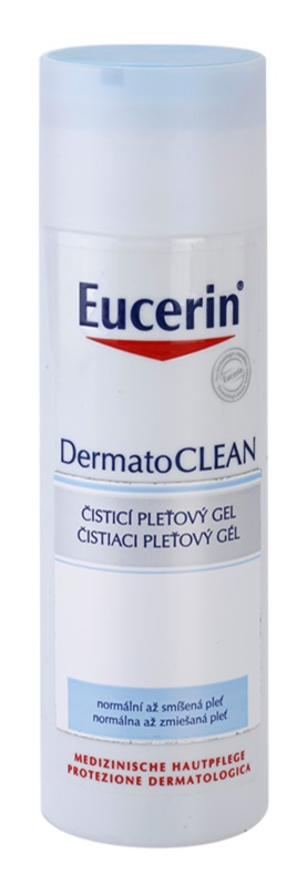Eucerin DermatoClean Reinigungsgel  für normale Haut und Mischhaut