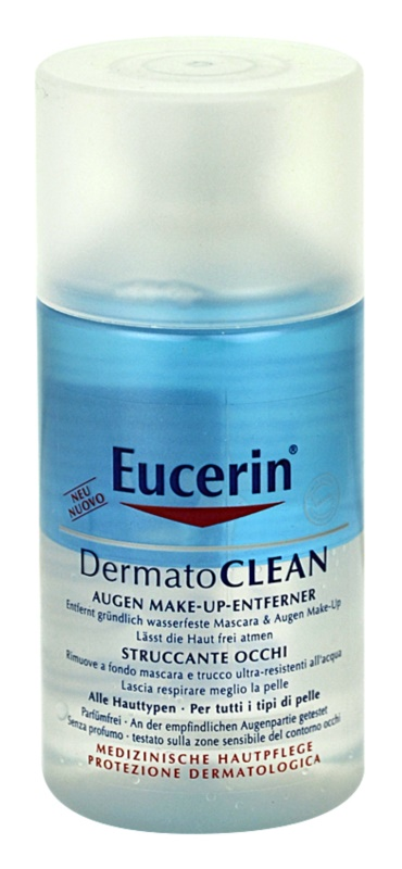 Eucerin DermatoClean démaquillant yeux pour tous types de peau