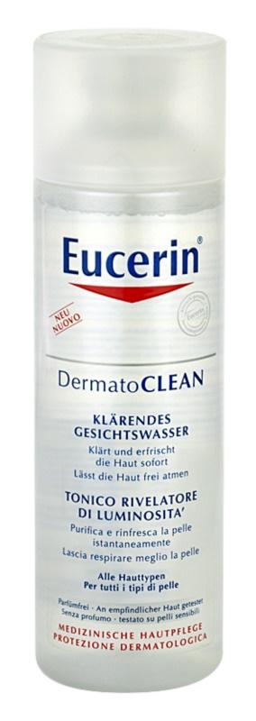 Eucerin DermatoClean čisticí pleťová voda pro všechny typy pleti