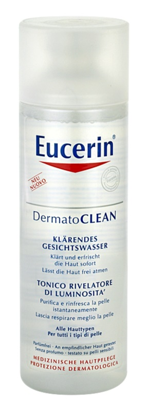 Eucerin DermatoClean Cleansing Facial Water for All Skin Types