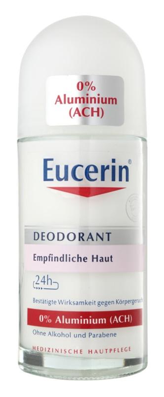 Eucerin Deo golyós roll-on dezodor alumínium mentes az érzékeny bőrre