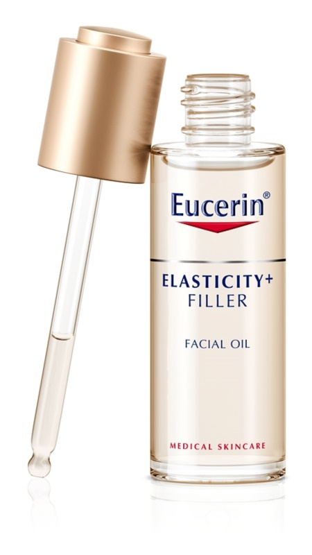 Eucerin Elasticity+Filler Oil Serum for Better Hair Elasticity and Resilience