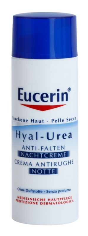Eucerin Hyal-Urea Anti-Wrinkle Night Cream For Dry To Atopic Skin