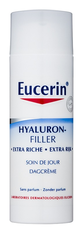 Eucerin Hyaluron-Filler crema de día  antiarrugas  para pieles secas y muy secas