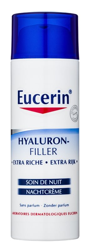 Eucerin Hyaluron-Filler Anti-Wrinkle Night Cream for Dry and Very Dry Skin