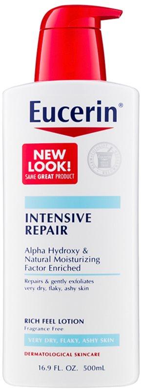 Eucerin Intensive Repair leche corporal nutritiva para pieles muy secas