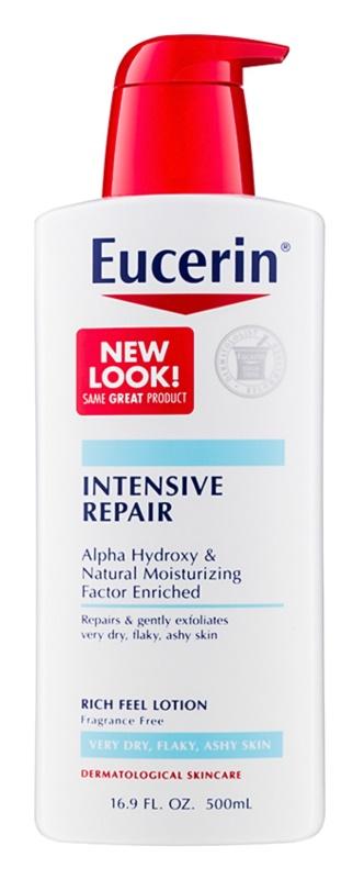 Eucerin Intensive Repair leite corporal nutritivo para pele muito seca