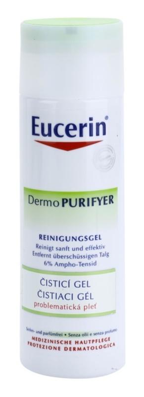 Eucerin Dermo Purifyer gel limpiador para pieles problemáticas y con acné