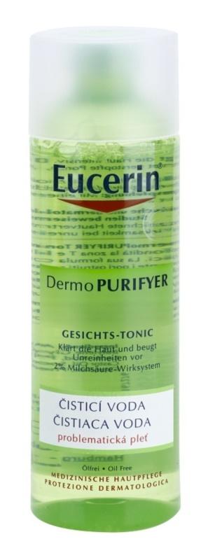 Eucerin Dermo Purifyer woda oczyszczająca do skóry z problemami