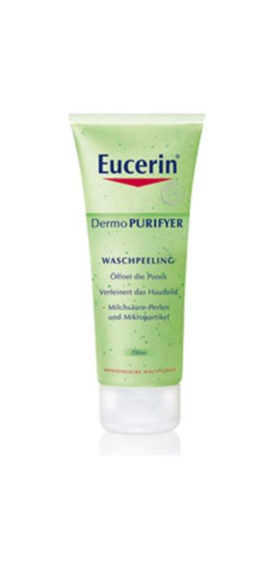 Eucerin Dermo Purifyer čisticí peeling pro problematickou pleť, akné