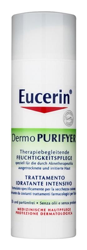 Eucerin Dermo Purifyer nawilżający krem na dzień do skóry z problemami