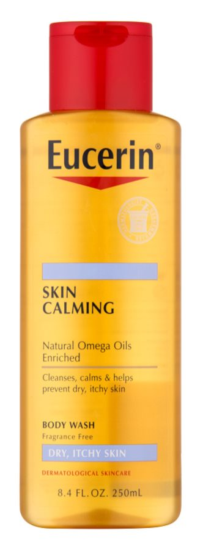 Eucerin Skin Calming óleo de duche para pele seca e com purido