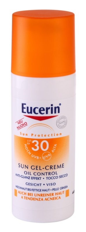 Eucerin Sun ochranný krémový gél na tvár SPF 30