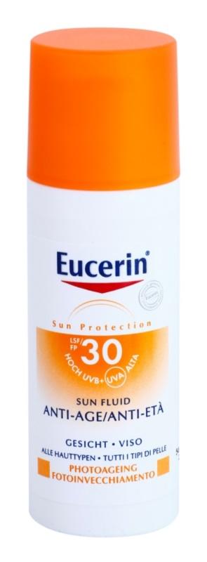 Eucerin Sun fluid hidratant anti-rid SPF 30