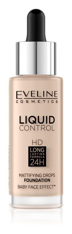 Eveline Cosmetics Liquid Control make up lichid  pipeta