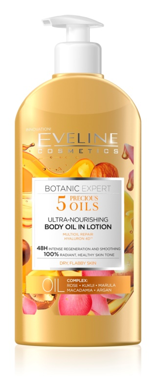 Eveline Cosmetics Botanic Expert поживне молочко для тіла для сухої шкіри