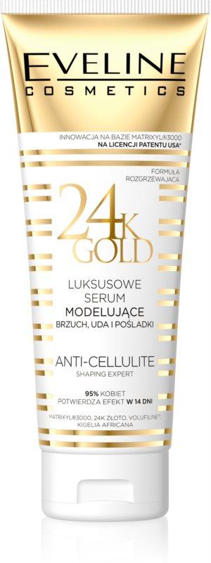 Eveline Cosmetics Slim Extreme 24k Gold Modellierendes Serum für Bauch, Oberschenkel und Gesäß