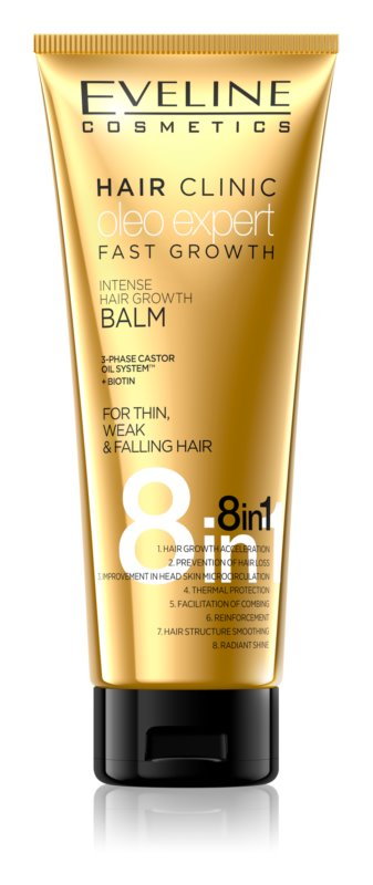 Eveline Cosmetics Oleo Expert Balm To Strengthen And Support Hair Growth