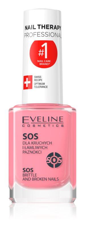 Eveline Cosmetics Nail Therapy conditionner multi-vitaminé au calcium