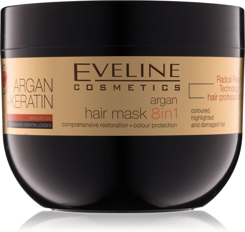 Eveline Cosmetics Argan + Keratin Hair Mask With Keratin And Argan Oil