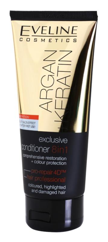 Eveline Cosmetics Argan + Keratin condicionador 8 em 1
