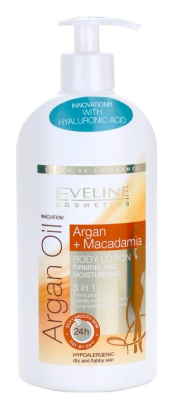 Eveline Cosmetics Argan Oil зволожуюче та зміцнююче молочко для тіла