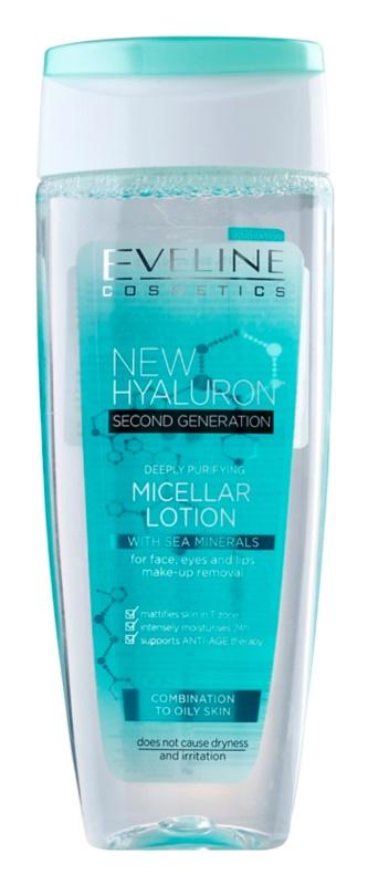 Eveline Cosmetics BioHyaluron 4D čisticí micelární voda pro smíšenou a mastnou pleť