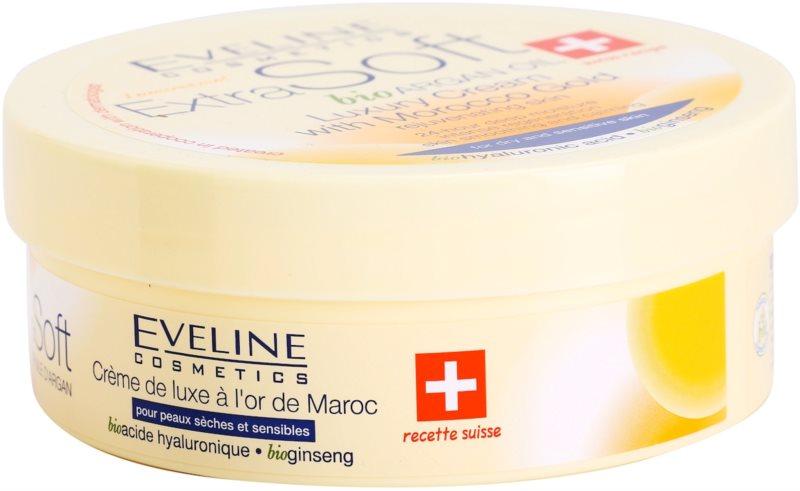 Eveline Cosmetics Extra Soft crema de lujo con oro marroquí