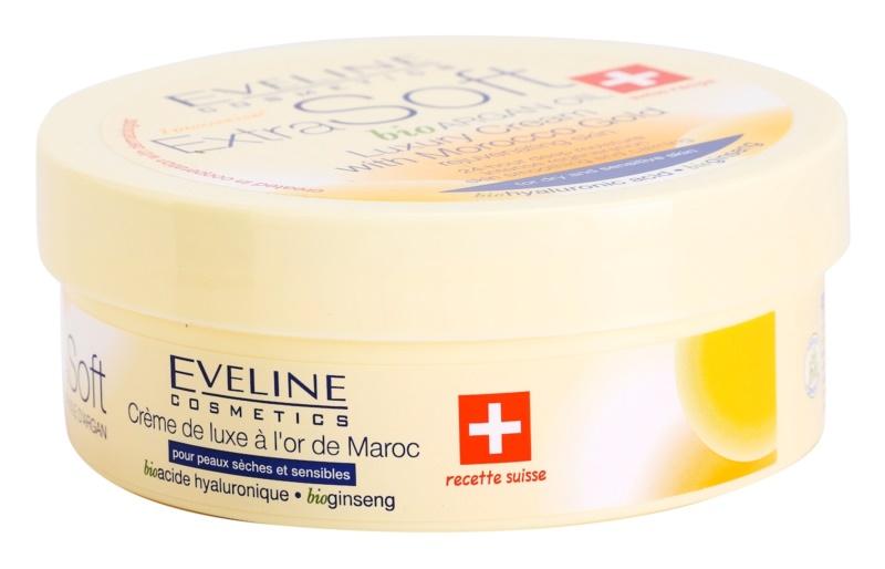 Eveline Cosmetics Extra Soft luxusní krém s marockým zlatem