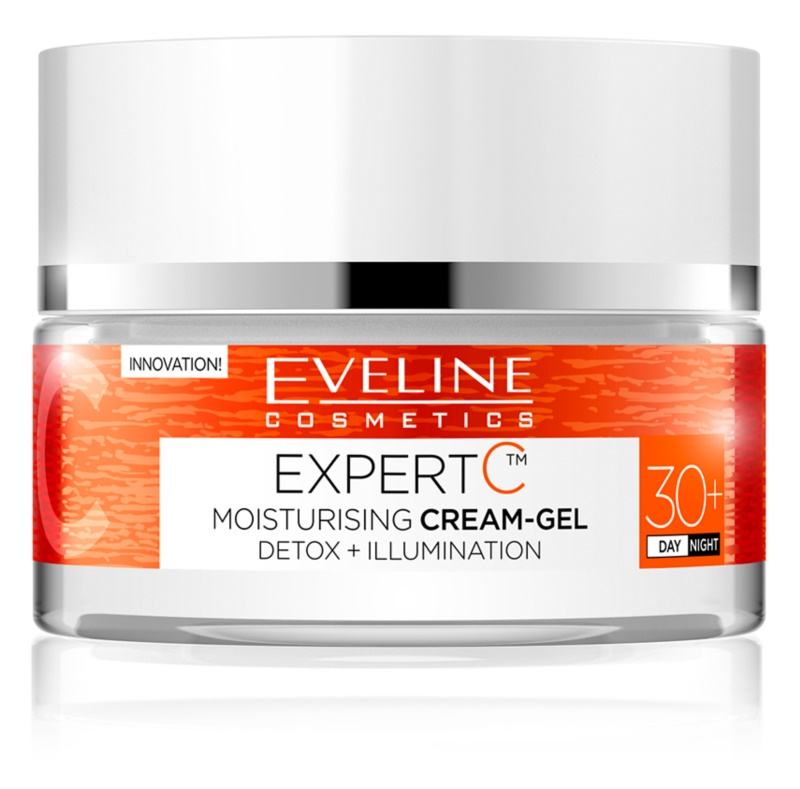 Eveline Cosmetics Expert C Feuchtigkeit spendende Gelcreme für Tag und Nacht 30+