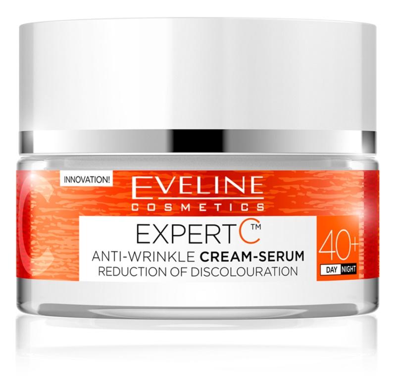 Eveline Cosmetics Expert C krem przeciwzmarszczkowy na dzień i na noc 40+