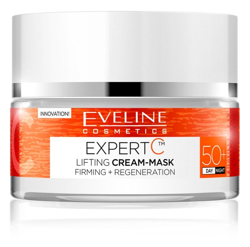 Eveline Cosmetics Expert C krem liftingujący na dzień i na noc 50+