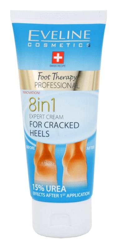Eveline Cosmetics Foot Therapy krém a megrepedezett sarokbőrre 8 in 1