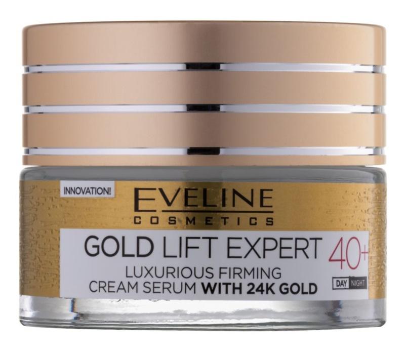 Eveline Cosmetics Gold Lift Expert cremă de lux pentru fermitate cu aur de 24 de karate