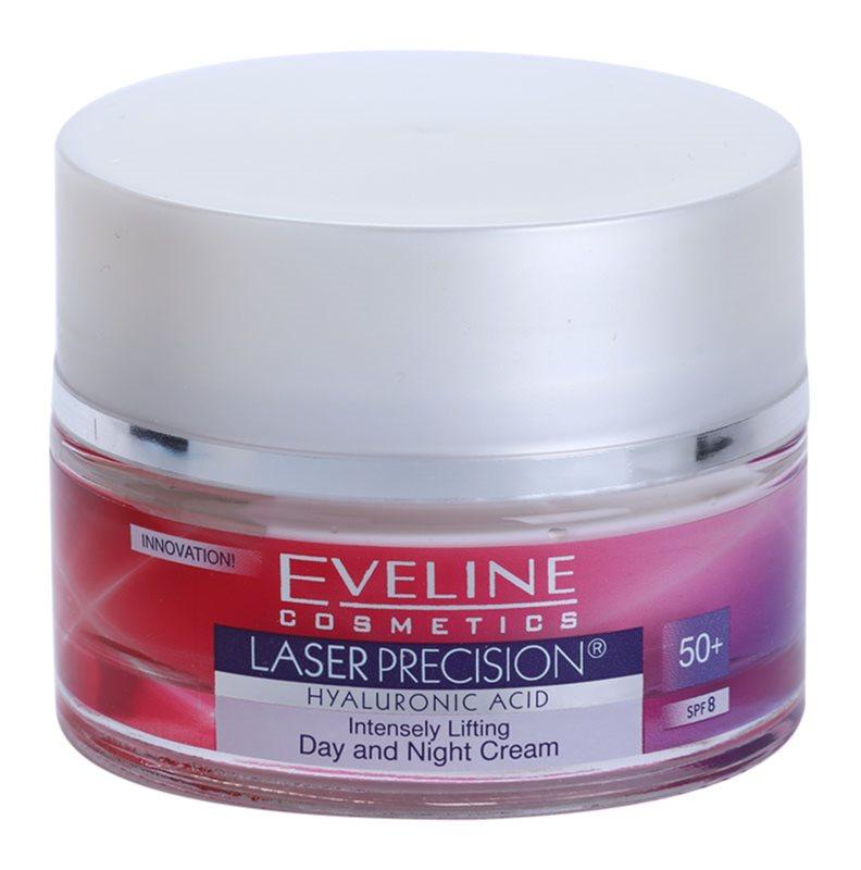 Eveline Cosmetics Laser Precision denní i noční protivráskový krém 50+