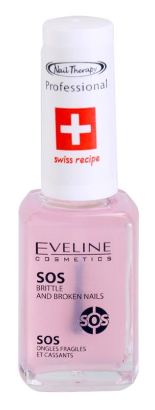 Eveline Cosmetics Nail Therapy balsam cu multivitamine cu calciu