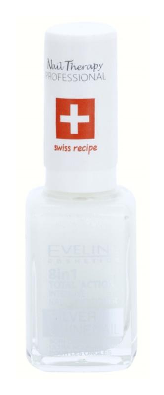 Eveline Cosmetics Nail Therapy Professional Conditioner für die Fingernägel mit Glitzerteilchen