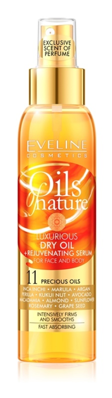 Eveline Cosmetics Oils of Nature ulei uscat de lux cu efect de reîntinerire