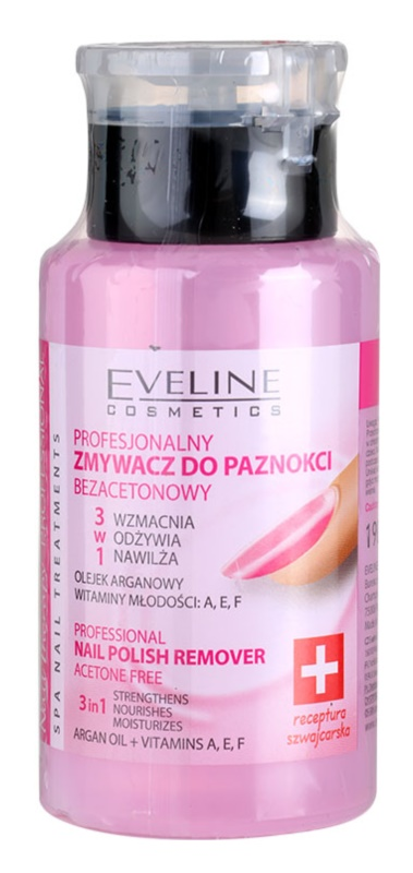 Eveline Cosmetics Professional засіб для зняття лаку без ацетону