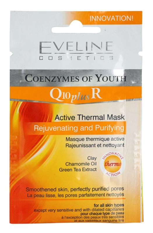 Eveline Cosmetics Q10 + R termo-aktív maszk