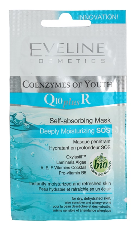 Eveline Cosmetics Q10 + R hydratační maska