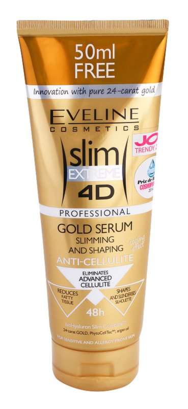 Eveline Cosmetics Slim Extreme сироватка проти розтяжок та целюліту