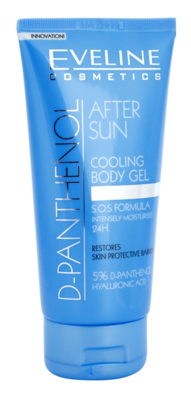 Eveline Cosmetics Sun Care зволожуючий гель після засмаги