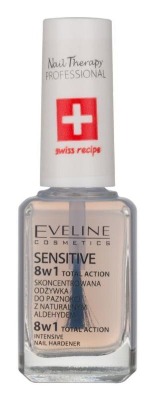 Eveline Cosmetics Total Action зміцнюючий лак для нігтів 8 в 1