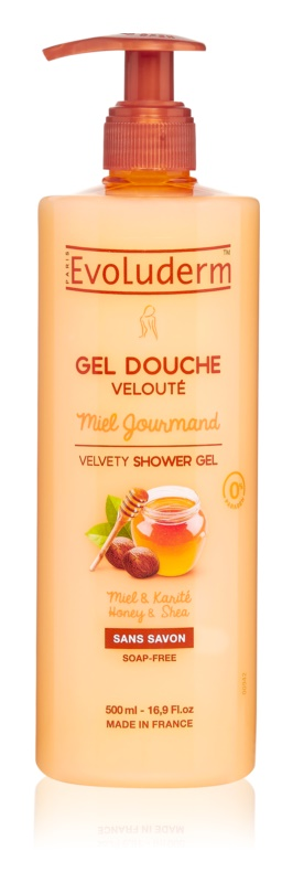 Evoluderm Miel Gourmand gel de duș catifelat cu miere