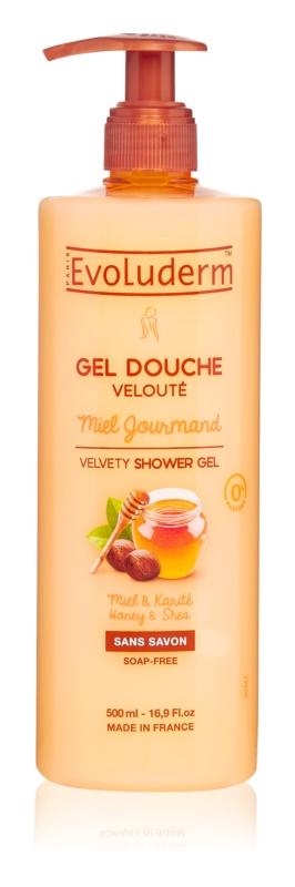 Evoluderm Miel Gourmand žametni gel za prhanje z medom