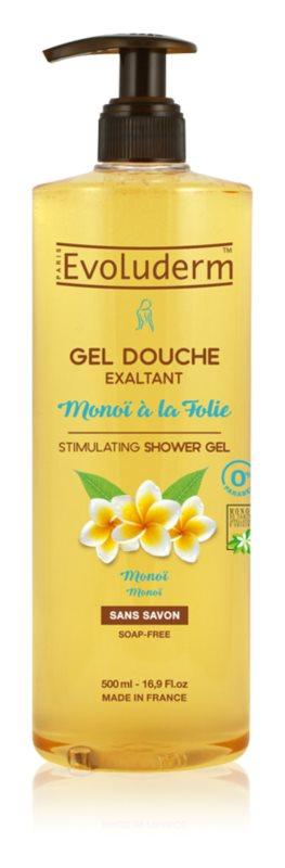 Evoluderm Monoi de Tahiti poživljajoči gel za prhanje