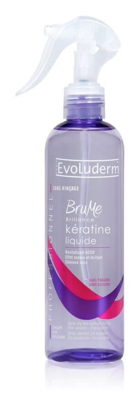 Evoluderm Keratin obnovujúci sprej s keratínom